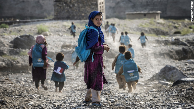 Despite deadly risks, Afghan girls take brave first step