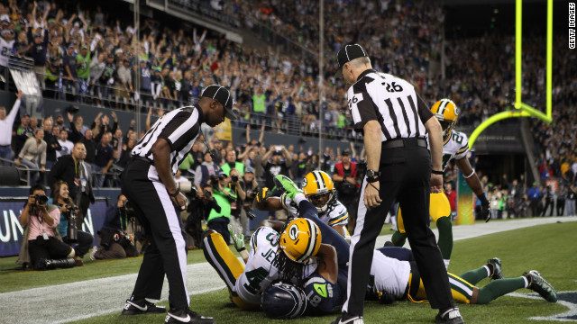 """Green Bay debió ganar"", dice la NFL; hubo error arbitral a favor de Seattle"