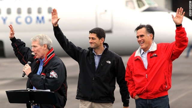 In Ohio, Romney praises debate partner Portman