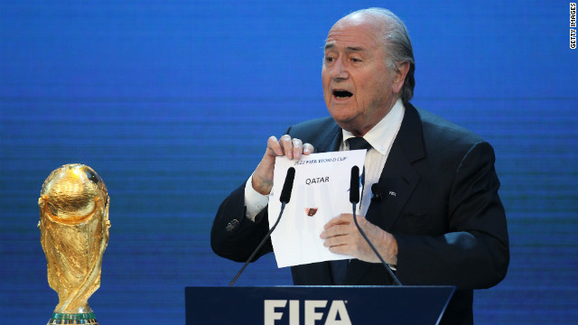 Qatar was awarded the 2022 FIFA World Cup after a vote in December 2010.