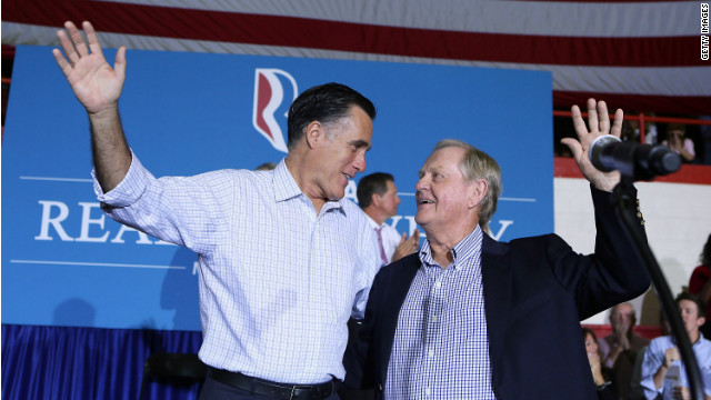 Romney 'my heart aches' for those struggling