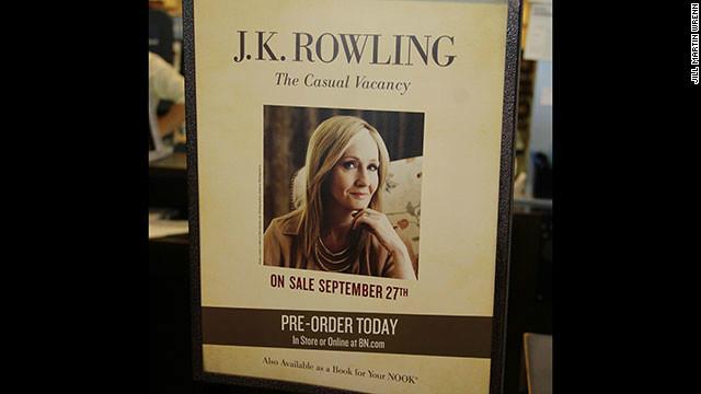 J.K. Rowling lanza una novela para adultos