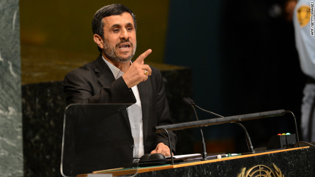 Ahmadinejad shows no signs of going quietly