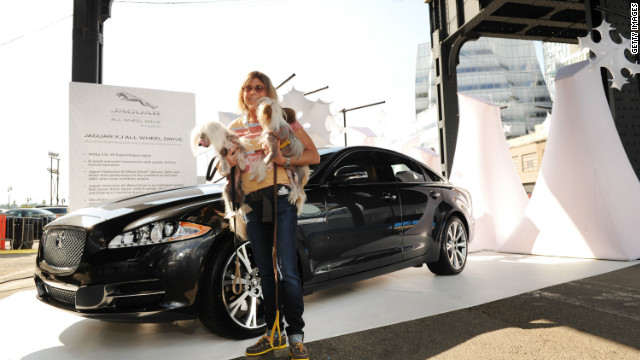 "Jaguar announces instinctive All Wheel Drive at the brand's ""Chill NY"" experience at High Line Park on August 16, 2012 in New York City."