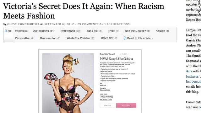 """¿Por qué no funcionó el concepto de """"geisha sexy"""" de Victoria's Secret?"""