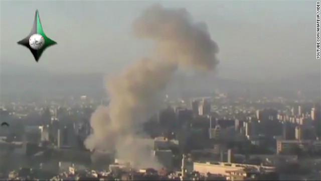 Rebeldes atacan edificio del Estado Mayor del gobierno sirio en Damasco