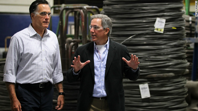 """Romney """"paga"""" sus decisiones pasadas en Ohio"""
