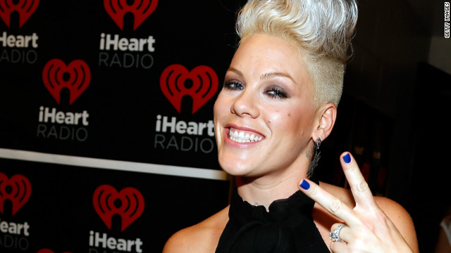 12 years in, Pink notches first No. 1 album