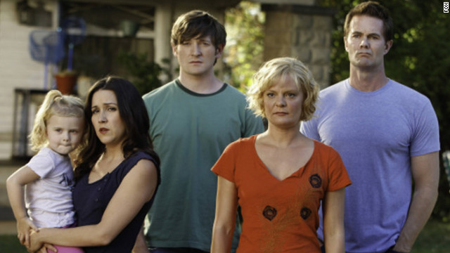 Martha Plimpton, second from right, who plays Virginia on