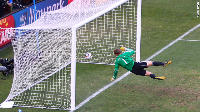 "Football has had numerous goalline controversies, leading to calls for the sport to adopt technology. Most notably at the 2010 World Cup, when England's Frank Lampard saw his ""goal"" disallowed in a match against Germany, despite the ball landing well over the line. The incident led to FIFA president Sepp Blatter admitting that the sport needed to embrace goalline technology."