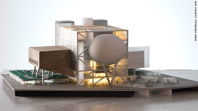 "Koolhaas has also designed the Taipei Performing Arts Center (model pictured), currently under construction. ""Architecture is always marshalling possibilities from all directions to do something that hasn't happened before,"" he says. ""Not for the hell of it, not for your ego but to create a degree of progress and make life more adventurous and give a sense of drive to society as a whole."""