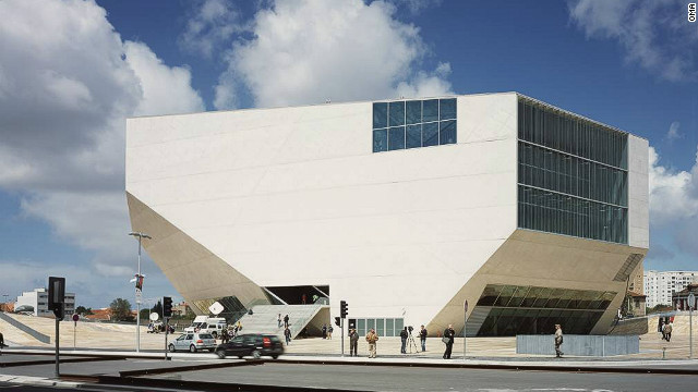 The <a href='http://www.casadamusica.com/Default.aspx?langSite=eng' target='_blank'>Casa da Musica</a> in Porto, Portugal, won Koolhaas the <a href='http://www.pritzkerprize.com/' target='_blank'>Pritzker Prize</a> in 2000.