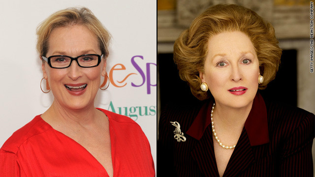 "Meryl Streep won an Oscar for her portrayal of British Prime Minister Margaret Thatcher in 2011's ""The Iron Lady,"" and so did members of her makeup team. They told <a href='http://insidemovies.ew.com/2012/02/24/the-iron-lady-makeup-oscars-behind-the-scenes/' target='_blank'>Entertainment Weekly</a> they pulled it off by working around Streep's natural facial elements."