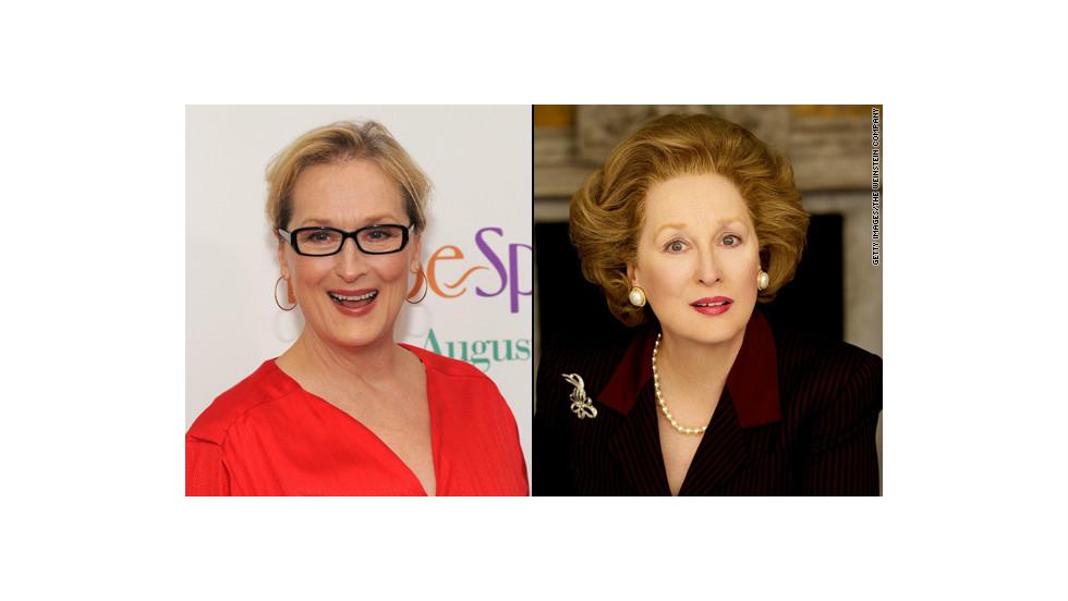 """Meryl Streep en """"La dama de hierro"""""""