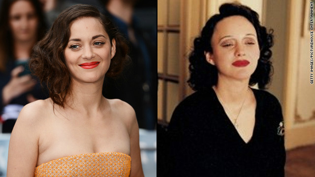 "Critics heaped praise on Marion Cotillard's award-winning portrayal of French chanteuse Edith Piaf in 2007's ""La Vie en Rose."" The physical part of her transformation took patience, with <a href='http://www.usatoday.com/life/movies/movieawards/oscars/2008-02-14-marion-cotillard-main_N.htm' target='_blank'>Cotillard's role demanding</a> five hours in a makeup chair."