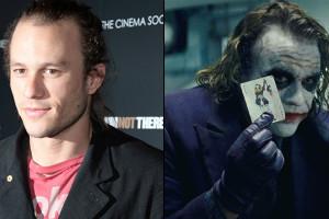 """Heath Ledger en """"El caballero de la noche"""""""