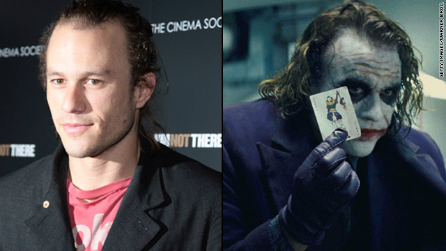 Heath Ledger's Joker was thrillingly unhinged in 2008's &quot;The Dark Knight,&quot; and the makeup job was part of the package. Both the actor and the makeup team were nominated for Oscars, but it was Ledger who was honored posthumously with the award.