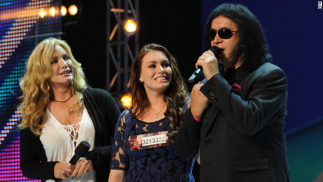 Gene Simmons' daughter Sophie auditions for 'X Factor'