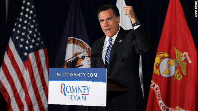Romney hammers Obama over sluggish GDP numbers