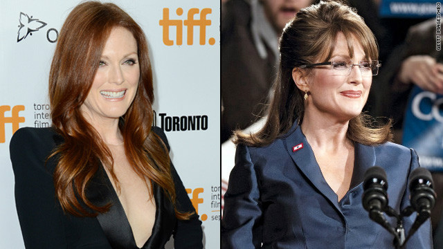 Julianne Moore was tasked with convincingly portraying Sarah Palin in HBO's 2012 movie &quot;Game Change,&quot; and implicit in doing so was looking the part. Moore pulled it off, picking up an Emmy in the process this month. Among those she thanked? Her hair and makeup team, of course.