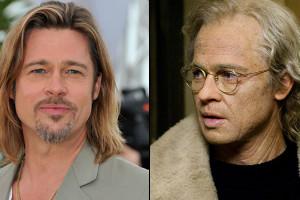 """Brad Pitt en """"El curioso caso de Benjamin Button"""""""