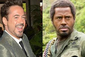 """Robert Downey Jr. en """"Una guerra de película"""""""