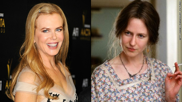 "Nicole Kidman nabbed a best actress Oscar for her portrayal of Virginia Woolf in 2002's ""The Hours."" But the makeup job that changed her appearance -- aided greatly by a prosthetic nose <a href='http://www.nytimes.com/2003/02/15/movies/the-nose-was-the-final-straw.html?pagewanted=all&src=pm' target='_blank'>that stirred debate</a> -- <a href='http://www.people.com/people/article/0,,625543,00.html' target='_blank'>didn't receive a nod.</a>"