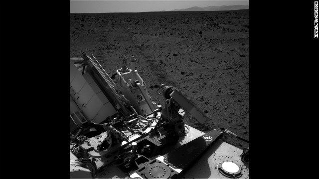 "Curiosity completed its longest drive to date on September 26, 2012. The rover moved about 160 feet east toward the area known as ""Glenelg."" As of that day the rover had moved about a quarter-mile from its landing site."