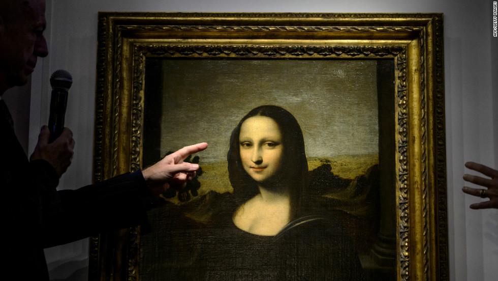 El rostro joven de La Mona Lisa