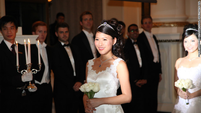 Debutante Jen Hau from Taiwan, 22, is the daughter of Lung-bin Hau, current Mayor of Taipei. She attended the Shanghai International Debutante Ball in Shanghai in January this year.
