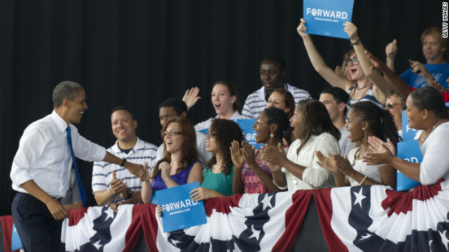 Obama looks for veteran support in Virginia
