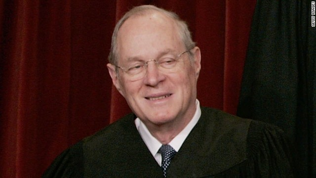Justice Anthony M. Kennedy, 76, was appointed to the court by President Ronald Reagan in 1988. He is a conservative justice but has provided crucial swing votes in many cases, writing the majority opinion, for example, in Lawrence v. Texas, which struck down that state's sodomy law.