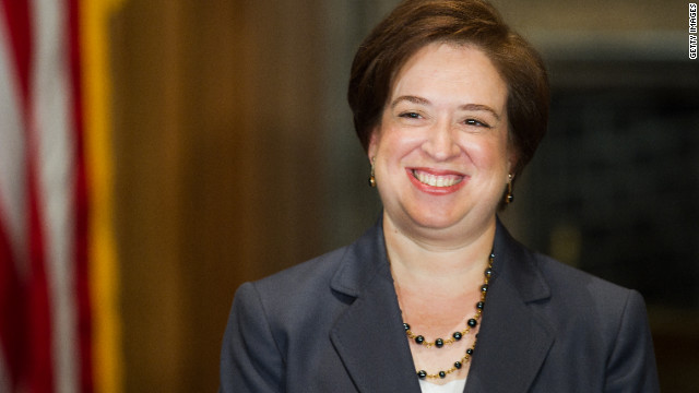 Justice Elena Kagan, 52, is the fourth female justice and a member of the court's liberal wing. She was appointed in 2010 by President Barack Obama and is the court's youngest member.