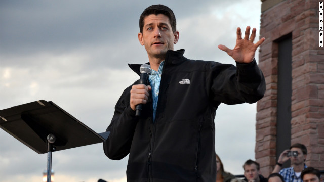 Paul Ryan makes appeal to military and veterans in Colorado