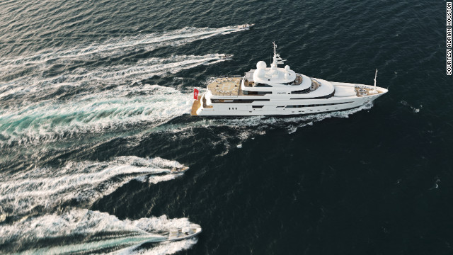 According Alex Flemming, CEO of Marine Pegaso, the yacht's management company, anybody can rent a superyacht in the south of France, drink champagne and have a lovely time but, he says, &quot;suddenly people are going: 'Hang on a second, I can go somewhere and do some good.'&quot; 