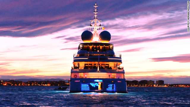 The RV Pegaso is a 73.6 meter superyacht boasting a fully-equipped, cutting edge marine laboratory big enough to house a team of 12 scientists.