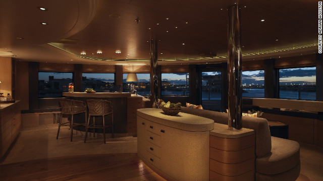 The owner, an accomplished diver and advocate of ocean preservation, wanted to design a boat which would unite luxury travel and significant scientific research.