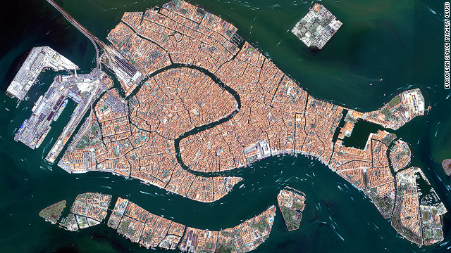 The city of Venice is investing billions in a new flood defence system to protect against sea level rises