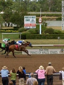 The picturesque 155-year-old track is home to one of Canada's Triple Crown races -- the Prince of Wales Stakes. 