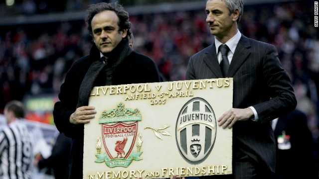 Striker Ian Rush, right, spent one season at Juve in 1987-88 between two spells at Liverpool. Before the first leg of the 2005 quarterfinal at Anfield, Liverpool supporters held up a mosaic to form the word &quot;Amicizia&quot; (friendship). Some of the visiting Juve fans applauded, but many turned their backs in disgust. There is also a Heysel memorial plaque at Liverpool's Anfield Stadium.