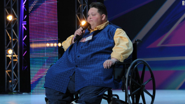 540-pound contestant wows &#039;X Factor&#039; judges