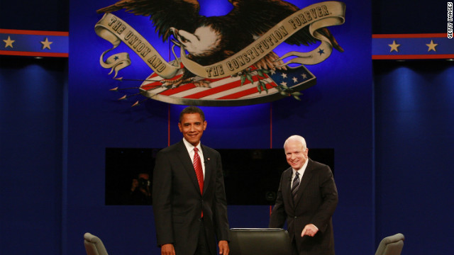Donna Brazile says the 2008 debates between Barack Obama and John McCain didn't change the direction of the campaign.