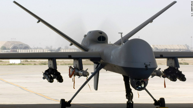Poll: Americans back drone attacks, but not on U.S. citizens abroad