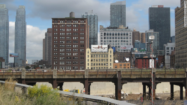 The High Line's freight history dates back to 1934, according to its website.