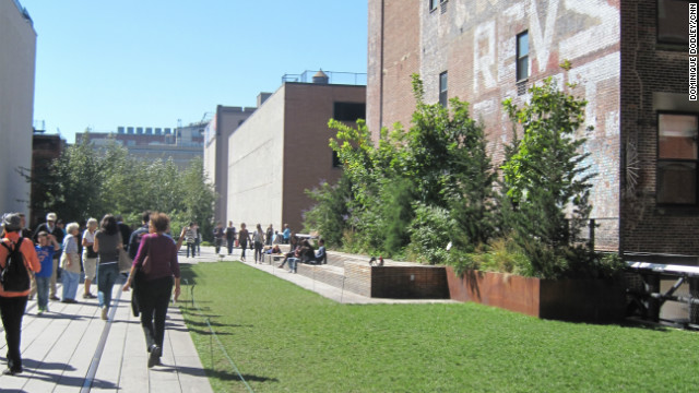 Since its opening four years ago, the High Line reportedly has attracted more than 10 million visitors.
