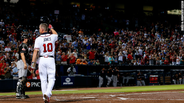 Chipper Jones' last hurrah