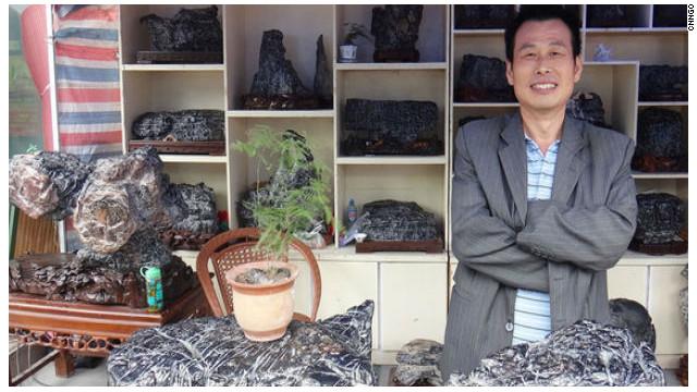 Venta de rocas, el nuevo negocio millonario en China
