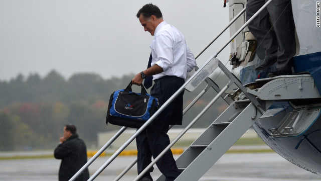 Romney spends Saturday off the trail in Massachusetts
