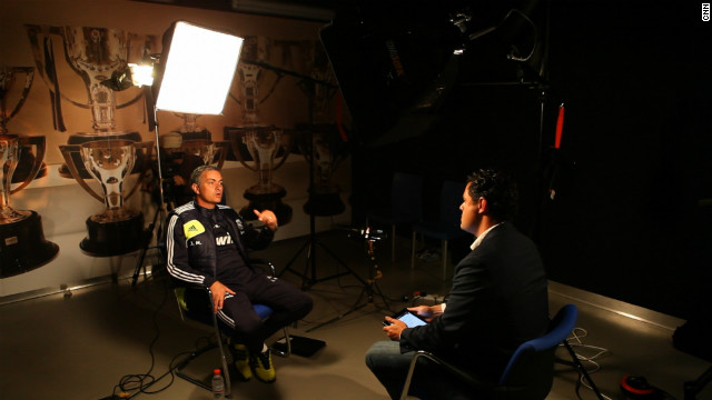 "Jose Mourinho opened up to CNN World Sport's Pedro Pinto by revealing he hates his social life. ""I would love to be with my family in the street as a normal person and I can't,"" he said in this exclusive interview."