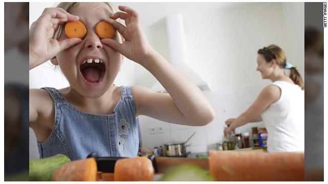 Cómo hacer que tus hijos se coman los vegetales